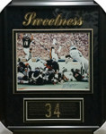 Walter Payton 'Sweetness' Signed Bears Framed 16x20