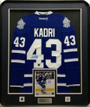 Nazem Kadri Maple Leafs Signed Framed Jersey
