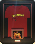 Hulk Hogan 'Hulkamania' 'Red' Signed Framed T-Shirt WWE