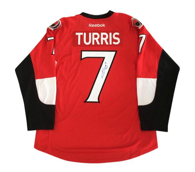 competitive price eab7a c6a8c Kyle Turris Ottawa Senators Signed Jersey