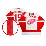 Steve Yzerman Signed Detroit Redwings Jersey