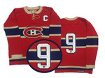 Maurice Richard  SIGNED Wool Montreal Canadiens Jersey