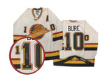 Pavel Bure Signed Vintage Vancouver Canucks Authentic Jersey