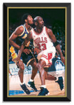 Michael Jordan / Kobe Bryant  Canvas Bulls Lakers