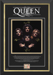 Queen Freddie Mercury Facsimile Signed/Autographed Bohemian Rhapsody Special Edition - Archival Etched Glass