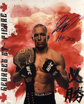 Georges St-Pierre 11x14 LIMITED EDITION