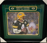 Brett Favre Signed 16x20 Green Bay Packers Photo