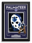 Mike Palmateer Signed Etched Glass 11x14 Toronto Maple Leafs Mask Photo