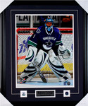 Roberto Luongo Signed Vancouver Canucks Framed Photo