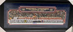 Montreal Canadiens 100 Year Lafleur Signed Panoramic