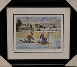 Richard / Bower 'Legendary Rivals' Signed Montreal Toronto Framed 16x20