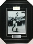 Satchel Paige Negro League Signed 11x14 Framed