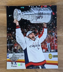 Ovechkin Signed Washington Capitals Stanley Cup 8x10