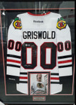 Chevy Chase Signed Clark W Griswold Chicago Blackhawks Jersey