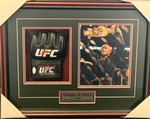 Georges St-Pierre Signed Pro Glove With 8x10 Framed GSP