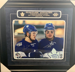 Auston Matthews & William Nylander Autographed Limited Edition/14 Toronto Maple Leafs 16x20 framed