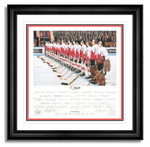 Autographed 1972 Team Canada Lithograph  signed by 35 Members