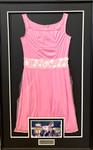 """Jennifer Grey signed Dirty Dancing Pink Dress """"Baby"""" Framed"""