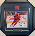 Jesperi Kotkaniemi Signed Montreal Canadiens 8x10 framed