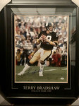 Terry Bradshaw Signed Pittsburgh Steelers 16x20 Framed