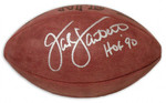 Jack Lambert Autographed  Steelers Authentic Wilson Football