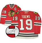 Johnathan Toews Chicago Blackhawks Red Jersey
