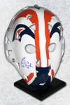 Fuhr Signed Full Size Replica Edmonton Oilers Mask