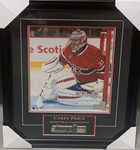 Carey Price Signed Montreal Canadiens 11x13 Framed Photo