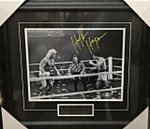 Hulk Hogan Signed 8x10 Hulk Vs Rocky