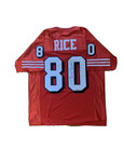 Jerry Rice Signed San Francisco 49ers Jersey