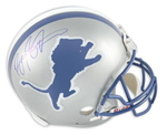 Barry Sanders Signed Proline Detroit Lions Helmet