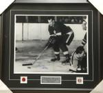 Gordie Howe Autographed Detroit Redwings Framed 16x20