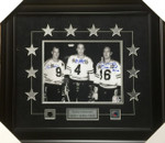 Gordie Howe , Jean Beliveau , Bobby Hull  Autographed 11x14 All Stars