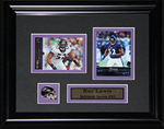 Ray Lewis 2 cards Baltimore Ravens Framed 341427