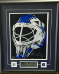Felix Potvin Signed 11x14 Toronto Maple Leafs Goalie Mask Photo