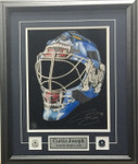 Curtis Joseph Signed 11x14 Toronto Maple Leafs Goalie Mask Photo