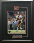Joe Theismann Autographed Washington Redskins 8x10 photo Framed