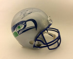 Brian Bosworth Signed Seattle Seahawks Riddell Helmet