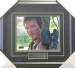 Norman Reedus autographed Walking Dead 8x10
