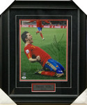 David Villa Signed Spain 8x10 Framed