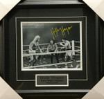Hulk Hogan Signed 11x14 Hulk Vs Rocky