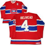 Jean Beliveau SIGNED Montreal Canadiens Jersey