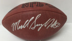 Mike Singletary Signed Wilson Football