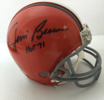 Jim Brown Signed Cleveland Browns Mini Helmet
