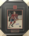 Guy Lafleur Signed Canadiens 8x10 Framed
