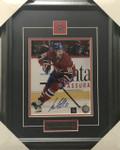 Lars Eller Signed Montreal 8x10 Framed