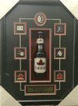 Henri Richard Signed Beer Bottle Framed