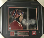 Jose Theodore Signed Canadiens 11x14 Winter Classic Framed