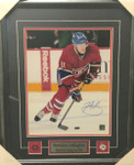 Brendan Gallagher Signed 11x14 Canadiens Framed