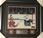 Roy & Mcdonald Signed Dual Montreal Calgary 11x14 Framed